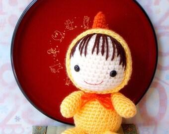 Crochet amigurumi Pattern - Zodiac Rooster Baby - Crochet  doll toy tutorial PDF