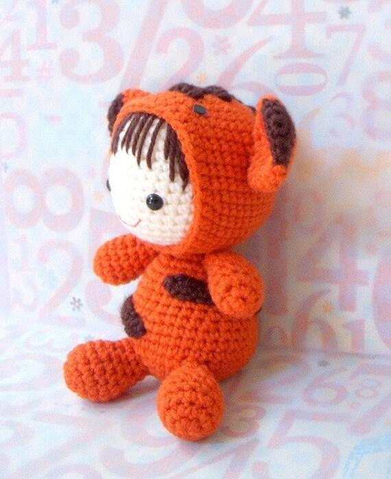 Crochet amigurumi pattern - Zodiac Tiger Baby - Amigurumi ...