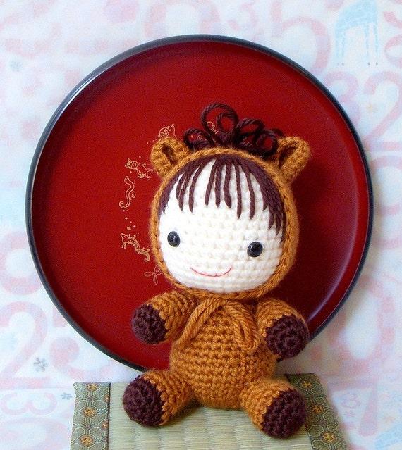 Amigurumi Year Of The Horse : Amigurumi Pattern Zodiac Horse Baby Crochet amigurumi