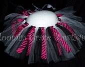 Hot Pink Zebra Tutu