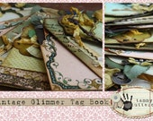 Vintage Glimmer Tag Book Class COMPLETE Class Kit