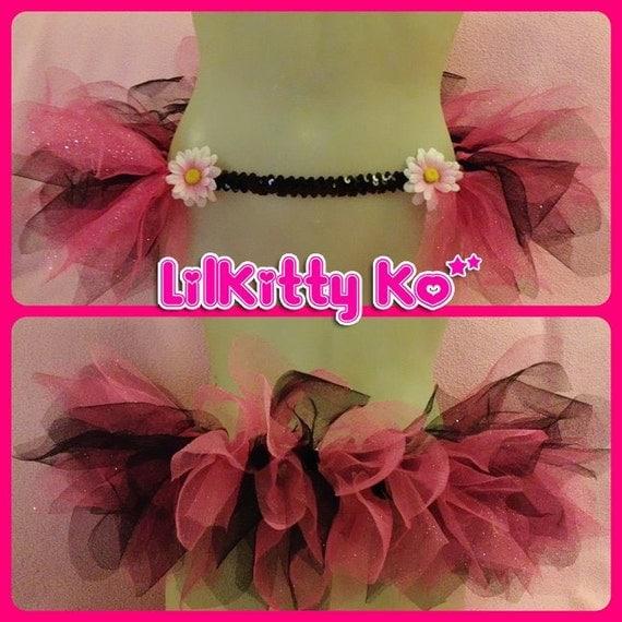 Pink Barbie - Custom glitter tutu skirt - MADE to ORDER