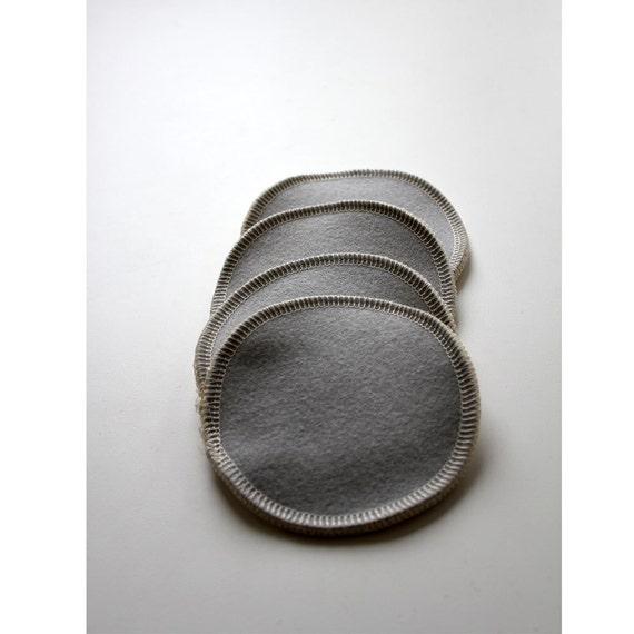 Merino Wool and Hemp/Cotton Nursing pads 2 Pair