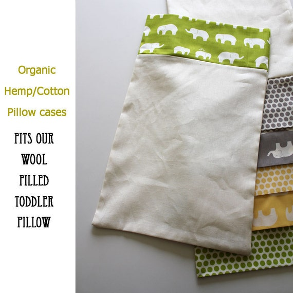 Organic pillow cases for toddler pillows