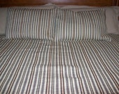 Free Shipping Straight Stitch King Size Bed Quilt with Two Matching Standard Shams