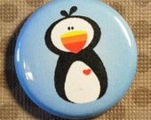 Arctic Puffin - 1 inch Magnet