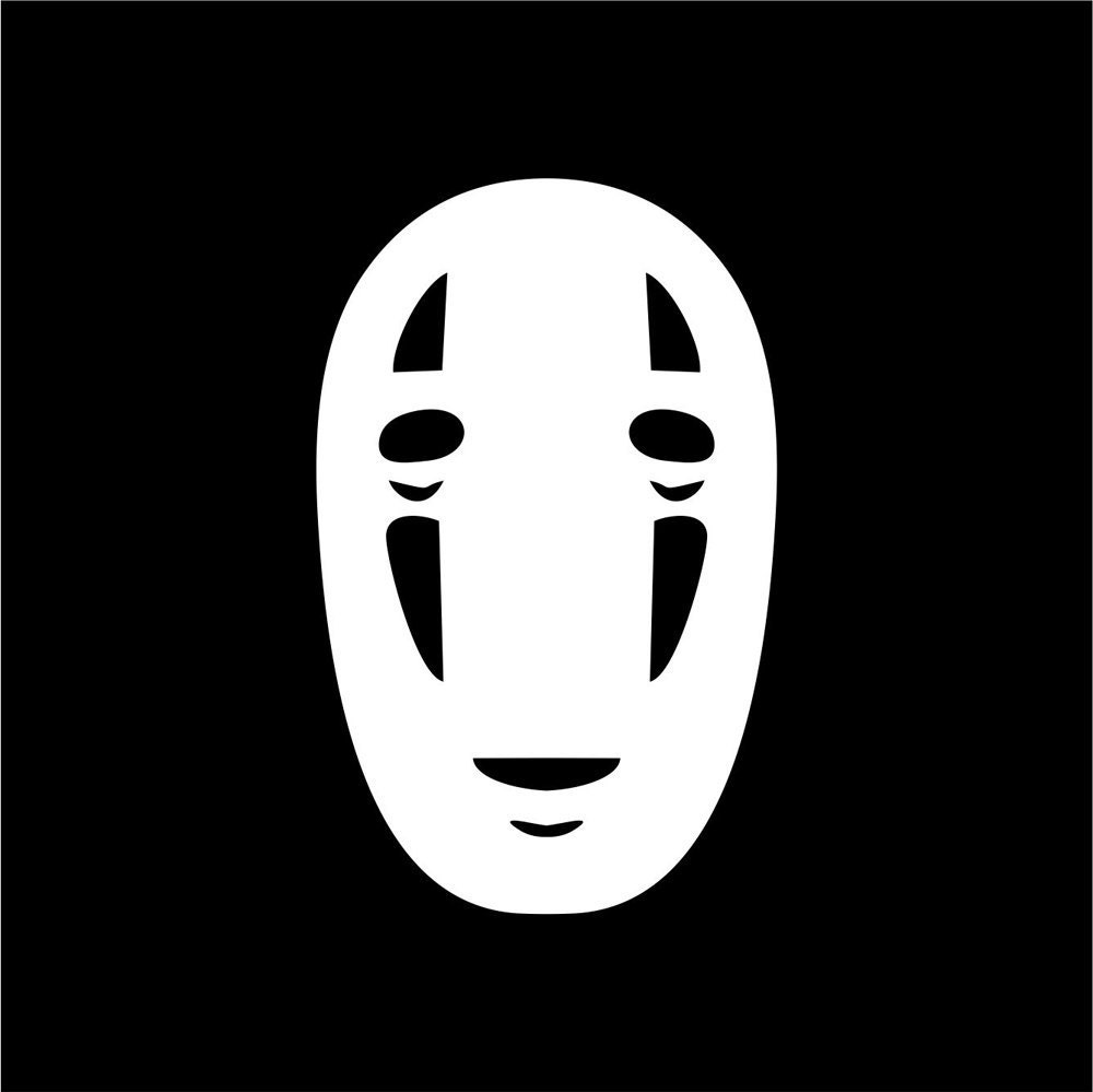 No Face Sticker from Spirited Away