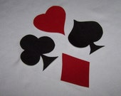 Cards Patch. Card Suit iron on. Cards Iron on. Cosplay Iron on, Card set Patch, Clubs Iron on. Spades iron on Appliques