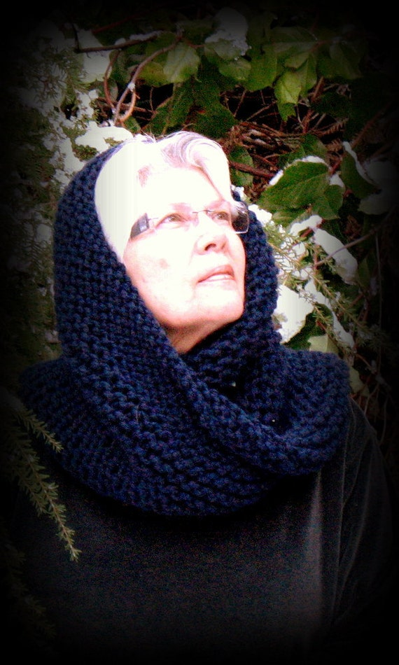RESERVED for Jackie, Handknit Snood, Free US Shipping