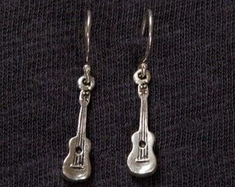 Ukulele Earrings made in Hawaii