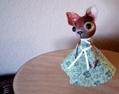 Tina Chihuahua JDConwell Clothespin Folkart Doll