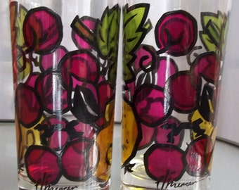 Set of Two Awesome Fruity Tumblers