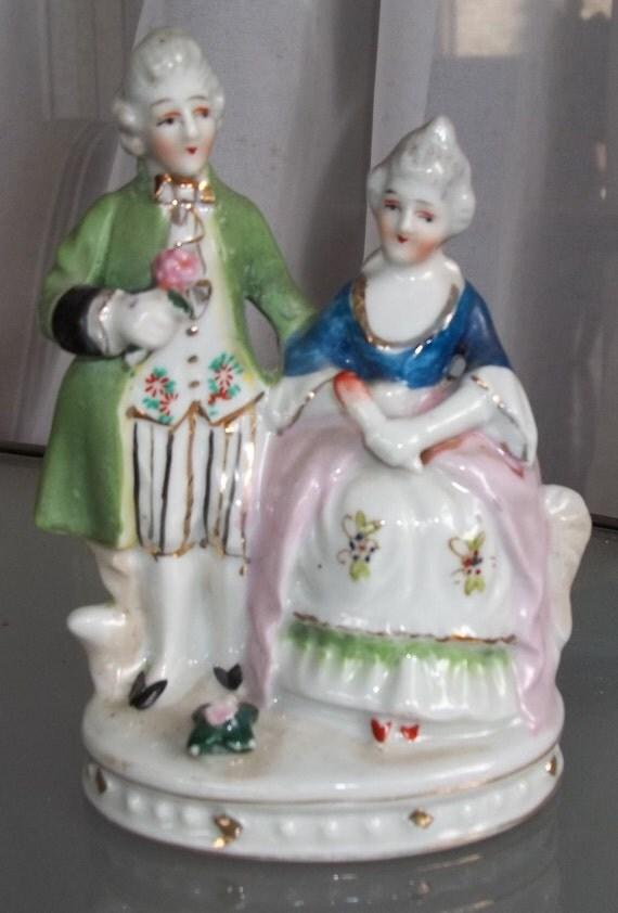 Vintage Figurine Made in Occupied Japan
