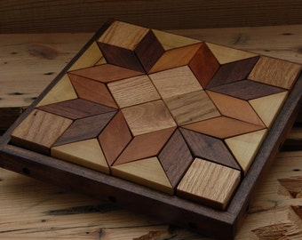 Solid Hardwood Puzzles