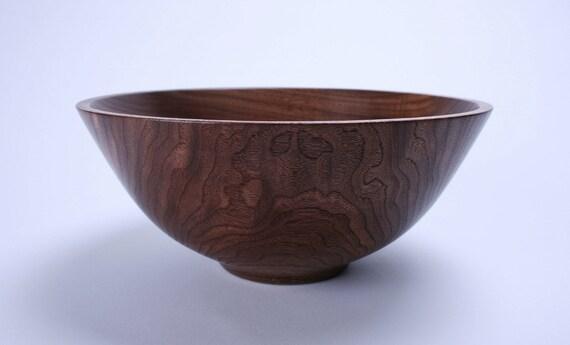 Wild Black Walnut Wooden Bowl 533 Hand Turned