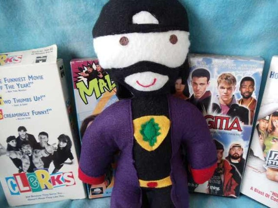 Kevin Smith as Bluntman from jay and silent bob super hero stuffed doll