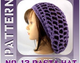The NO.13 Rasta Hat Pattern/Tutorial