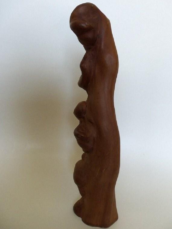 "Natural Cypress Knee - Beautiful Knobby, Gnarly 15"" Warm Brown"