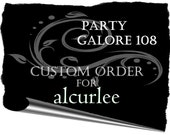Custom Listing for alcurlee- Shabby chic Baby onesies (additional) TWINS banner
