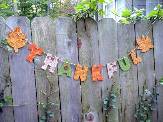 Decorating Ideas > Items Similar To Thanksgiving Decorations, Happy  ~ 070224_Thanksgiving Decorations On Etsy