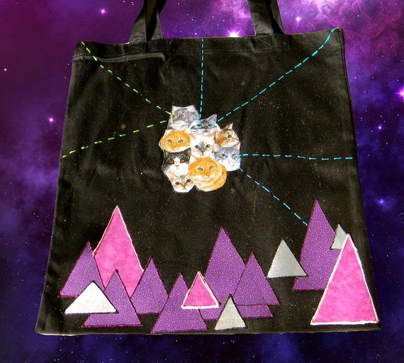 Laser Cat Tote Bag 005