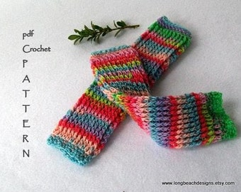 Crochet Pattern Infant and Toddler Legwarmers crochet leg warmer pattern