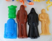 10 SUDS WARS SOAP Favors - Birthday Party Favor - Baby Shower Favor (Favor Tags Included)