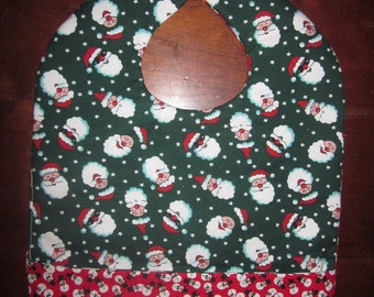Get Your Jollies (Christmas Holiday) Reversible Double-Sided Pocket Bib - Ready to Ship