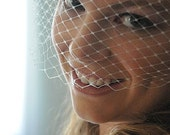 SALE: Ivory Veil Netting - Yard Russian or French Net Birdcage Material, Half or Full Yard