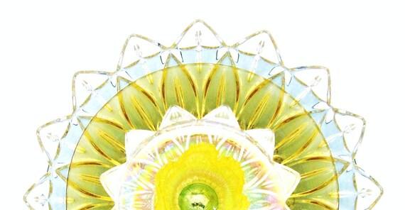 RESERVED FOR MARIE Garden Art Yard Suncatcher UpCycled RePurposed Glass