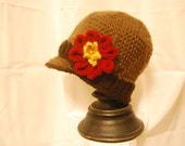 Beautiful Fall colored Brim hat