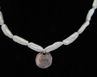 Freshwater Biwa Pearl Necklace
