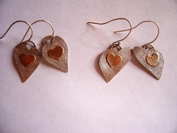 Heart of Gold Earrings