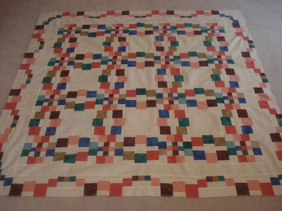 Monet's Wedding Ring Quilt - Quilt Top Only