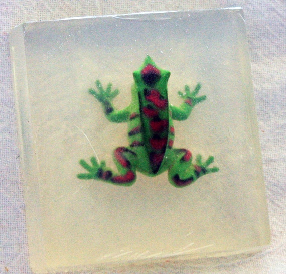 Yet another  Frog Toy in Soap