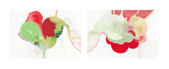 Diptych Series: Abstract Painting /// 3
