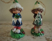 Ornaments-Pair of Pretty Girls
