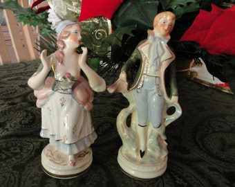 Porcelain Couple marked Coventry