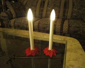 Amazing Vintage Candlestick Pair