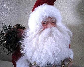 Santa and Goodies