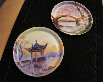 Japanese Hand Painted Plates