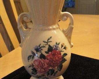 Royal Copley Floral Vase