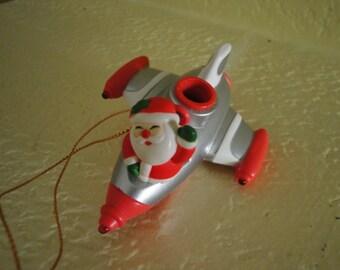 Santa in a Space Ship
