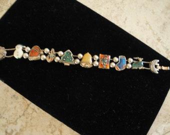 Christmas Slide Bracelet