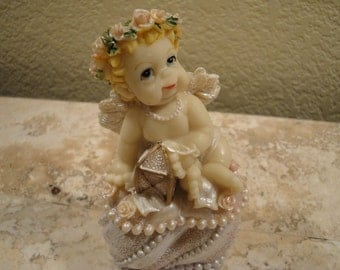 Cherub Keepsake / Trinket Box