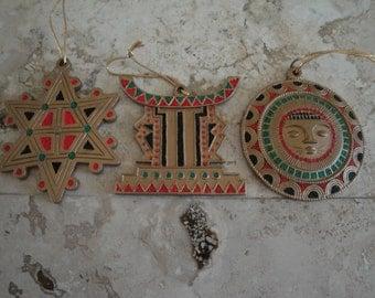 Three  Piece Ornaments