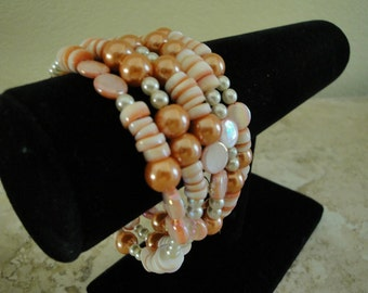Beaded Bracelet - It's a Wrap
