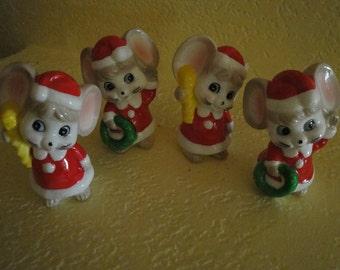 Ceramic Mice - Set of 2