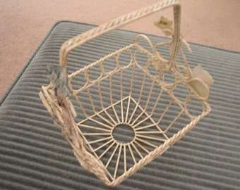 Wire and Ivy Basket