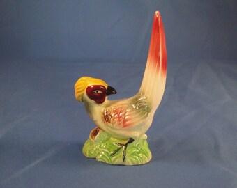 Pheasant figurine - Ceramic